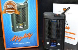 Mighty Vaporizer Test