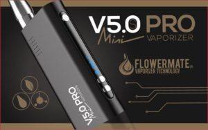 Mobile Vaporizer Test Flowermate V5.0S Pro Mini