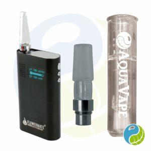 Mobile Vaporizer Test FlowerMate V5.0S Pro im AquaVape² Set mit Wasserfilter